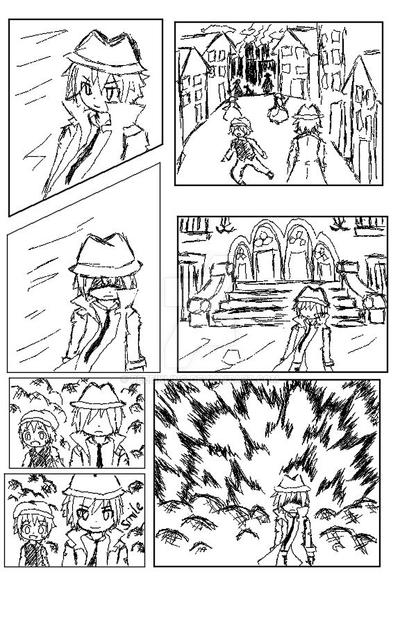 Explosion Guy Mini Comic by rezeikling