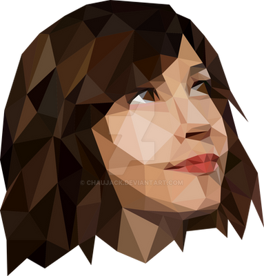 Carrie Brownstein - Lowpoly Graphic Illustration