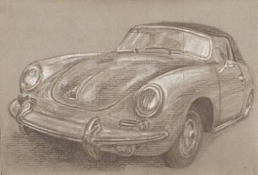 Porsche 356 by nvercrst