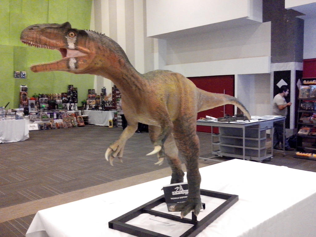BABY ALLOSAURUS LIFESIZE by splintersaurus358 on DeviantArt Dinosaur Revolution Allosaurus Broken Jaw