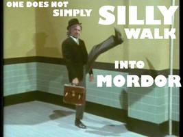 Into Mordor by heyfeeney