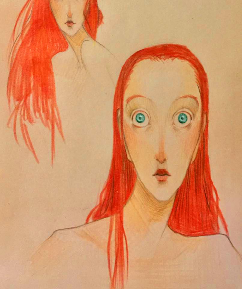 Ariel - Disegno di Prova by GiuliaFerla