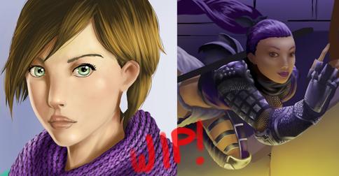 WIP Scarf/Ninja by MarzoRamon