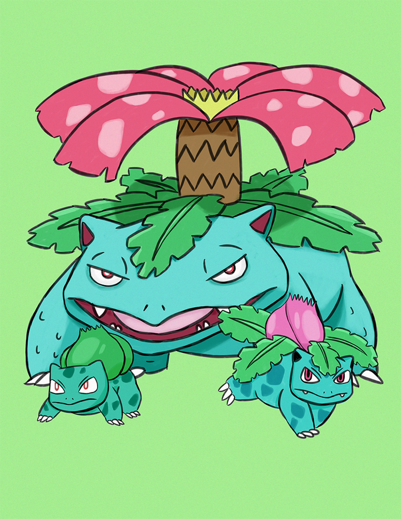 bulbasaur evolution wallpaper images - photo #22