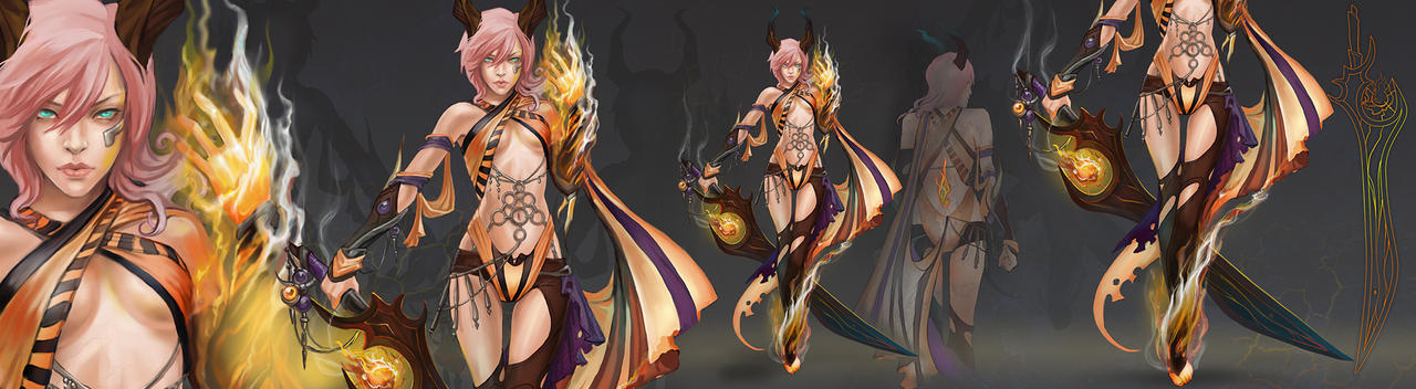 Ifrit version by neko-tin