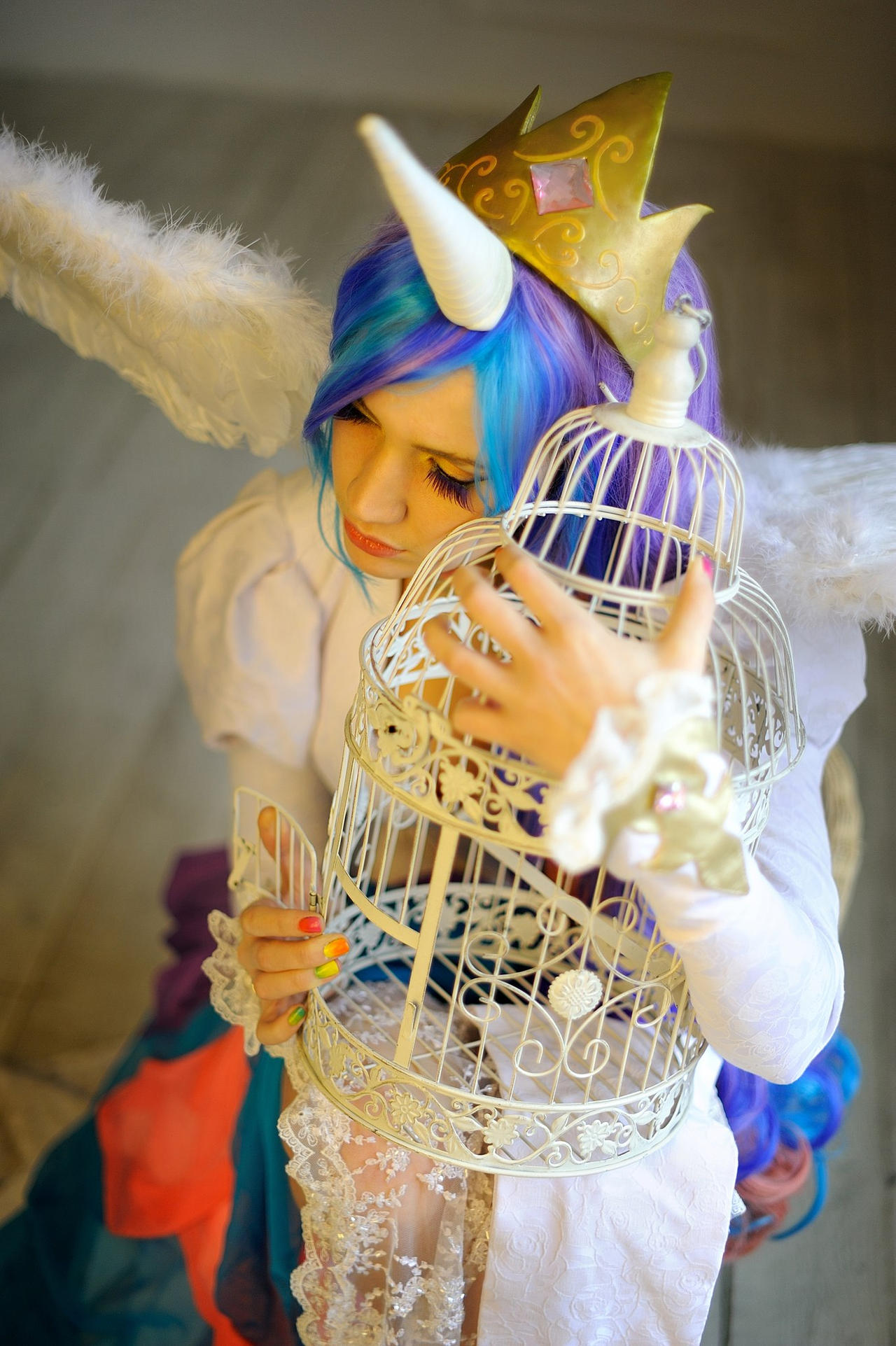 Princess Celestia 4 by neko-tin