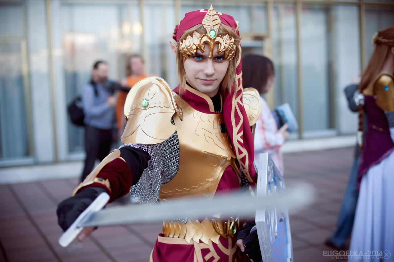 Link (Magic armor) by neko-tin