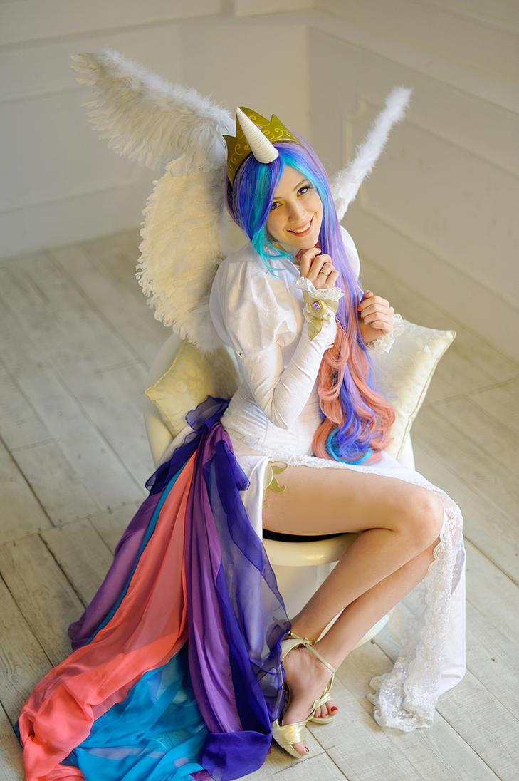 Princess Celestia 6 by neko-tin