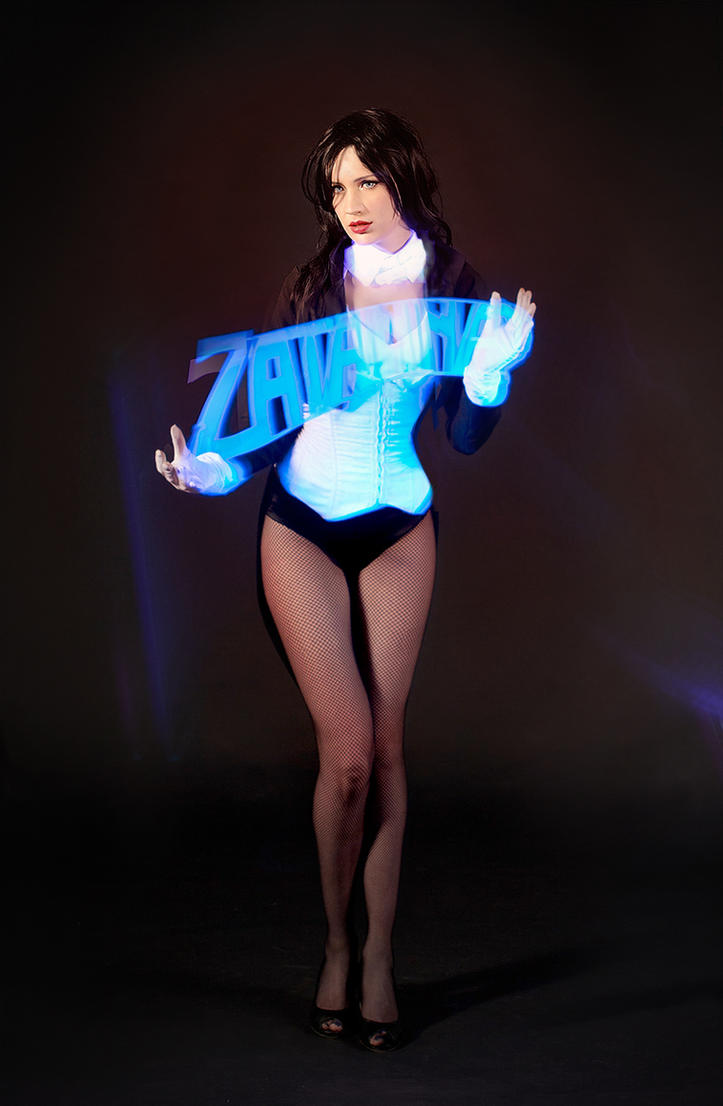 Zatanna magic by neko-tin