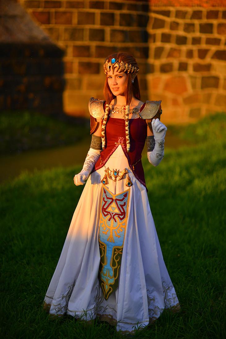 Princess Zelda by neko-tin