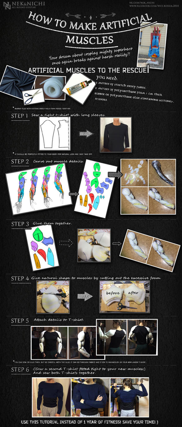 Tutorial - How to make artificial muscles by neko-tin