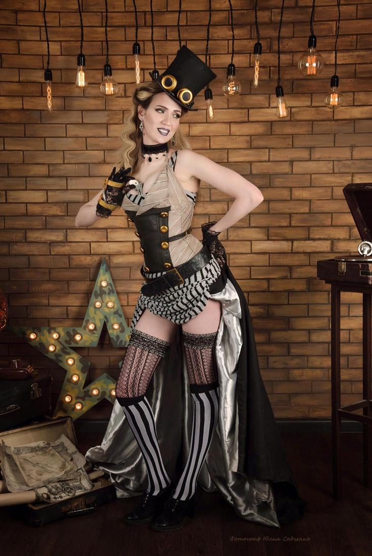 Steampunk lady by neko-tin