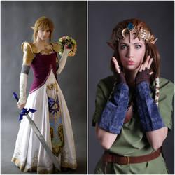 Zelda cross dress by neko-tin