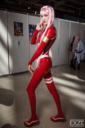 Zero two latex suit by neko-tin