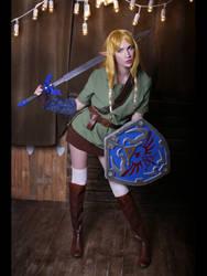 Cross dress Zelda by neko-tin