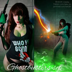 Ghostbusters girl