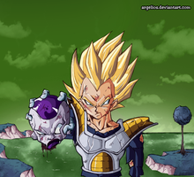 Universe 13: Vegeta kills Freezer