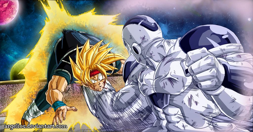Dragon Ball Multiverse: King Cold vs Bardock by Argelios