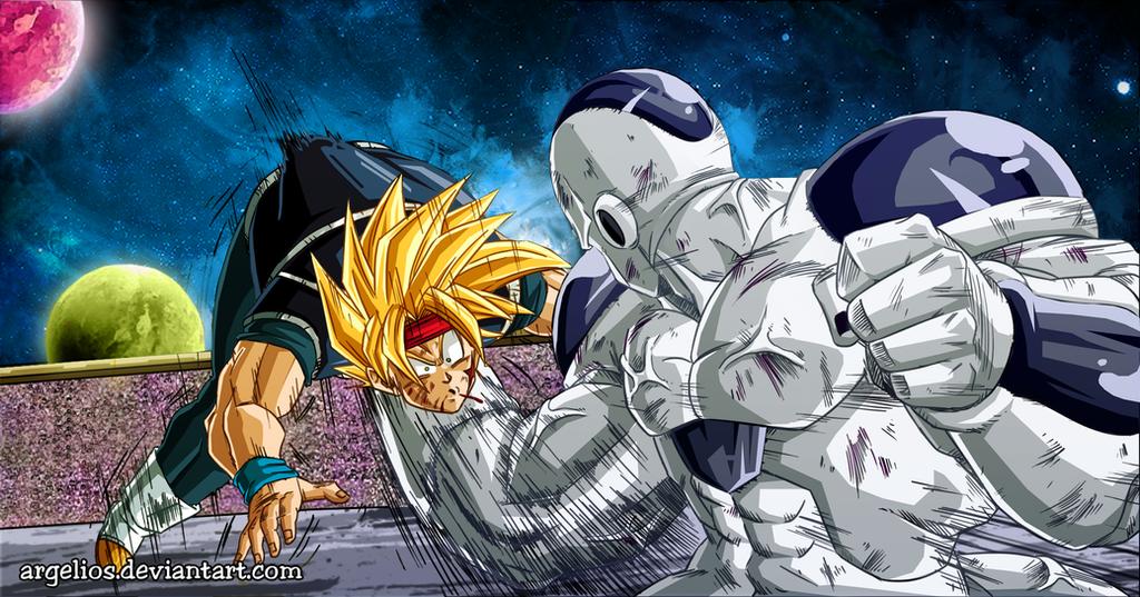 DBM: King Cold vs Bardock version 2 by Argelios