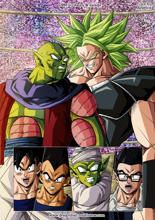 dragon ball multiverse 1269 color by argelios - Dragon B
