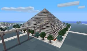 Minecraft Pyramid Mall n hotel
