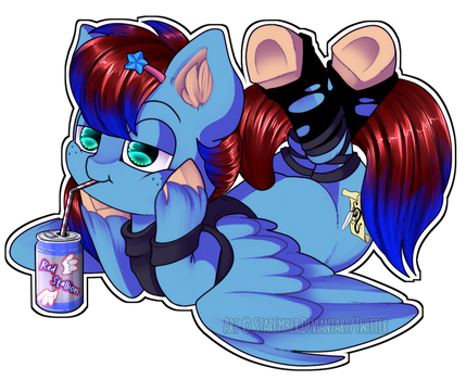 Cozy Sipping ~ by StarEmber