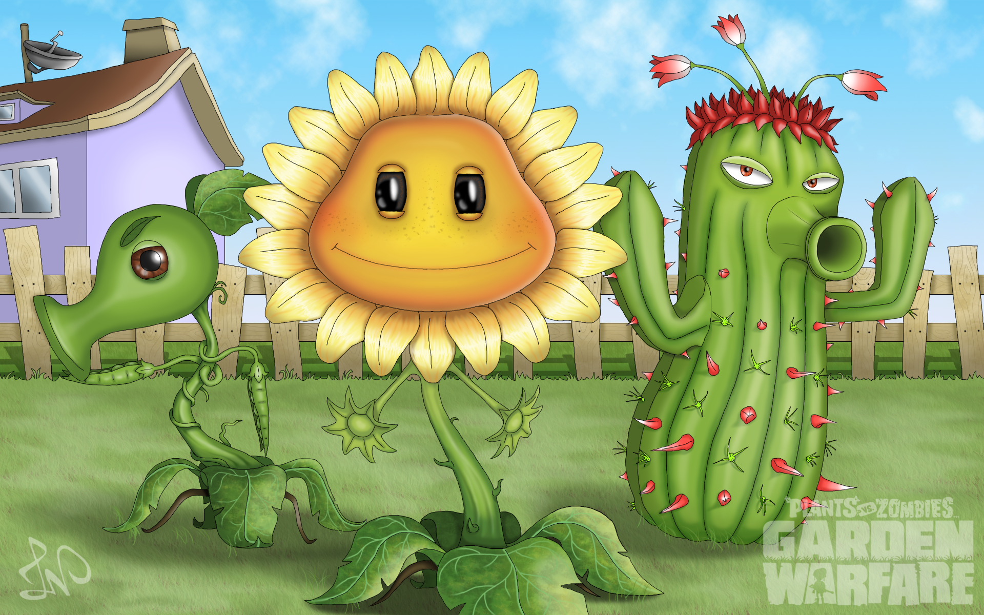 Plants Vs Zombies Garden Warfare By Linonatsumihun On