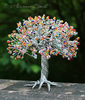 The Skittles Tree $50 by Roses-to-Ashes