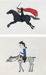 Ichabod and the Headless Horseman