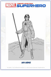 My 'own' Marvel Hero-YinYang