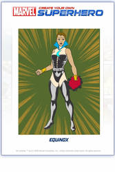 My 'own' Marvel Hero-Equinox