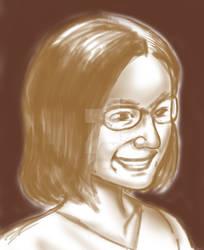 Quick Portrait by Omi