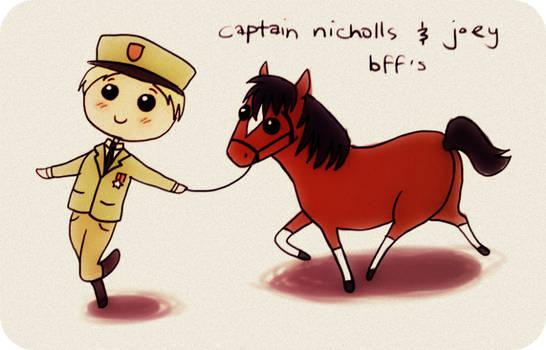 captain nicholls and joey