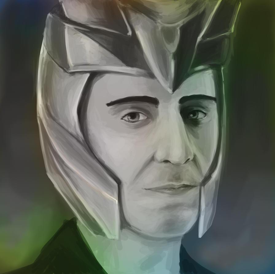 loki portrait by trazar