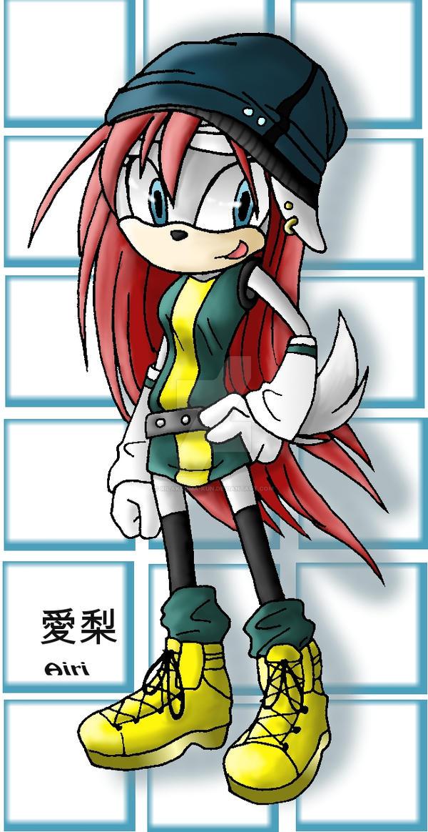 airi my sonic fan character by rilakkumakun on deviantart