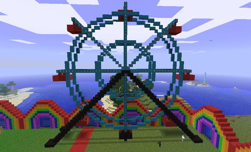 Ferris Wheel Minecraft by 7serenee on DeviantArt  Ferris Wheel Mi...