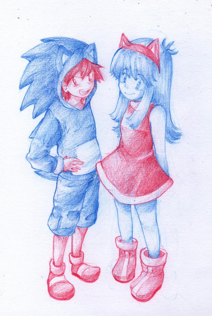 Sonic Cosplay by HaruYuzuki