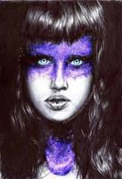 Alice - KimberleyCamilleri pen drawing