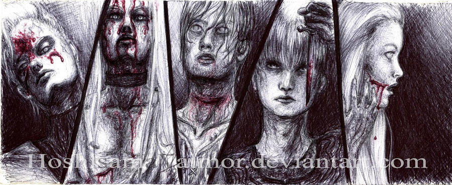 Bloody Family - OC pen by HoshisamaValmor