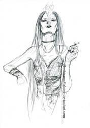 Amanda OC 20 min sketch