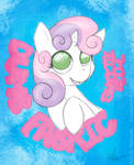 Sweetie Belle Dumb Fabric
