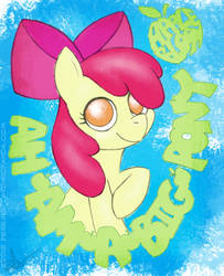 Apple Bloom is a big pony