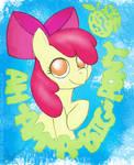 Apple Bloom is a big pony
