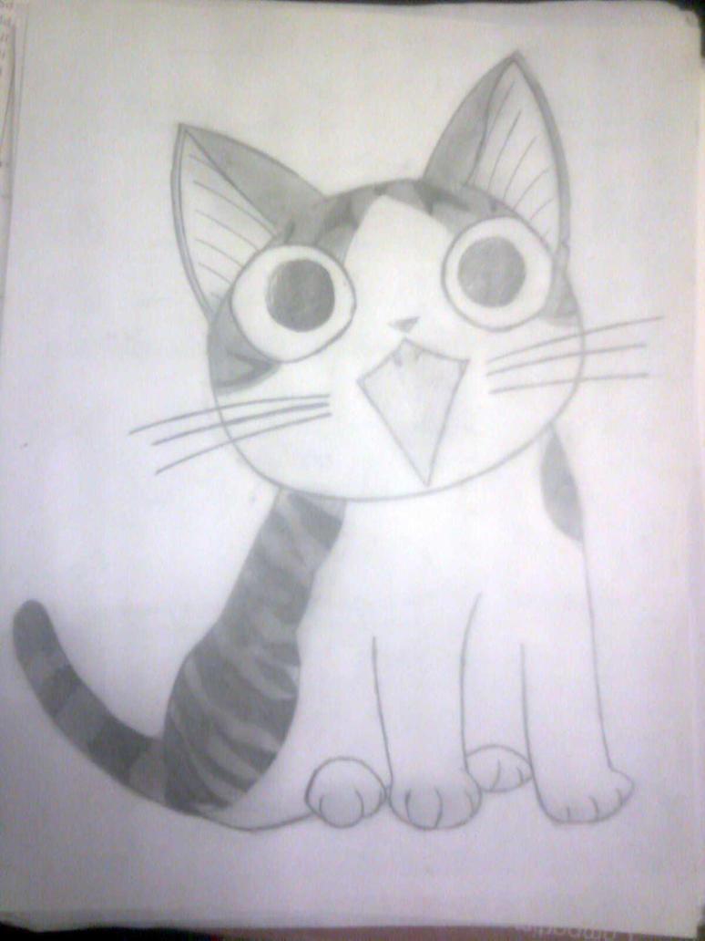 Sweet Cat by uchihawolfalex