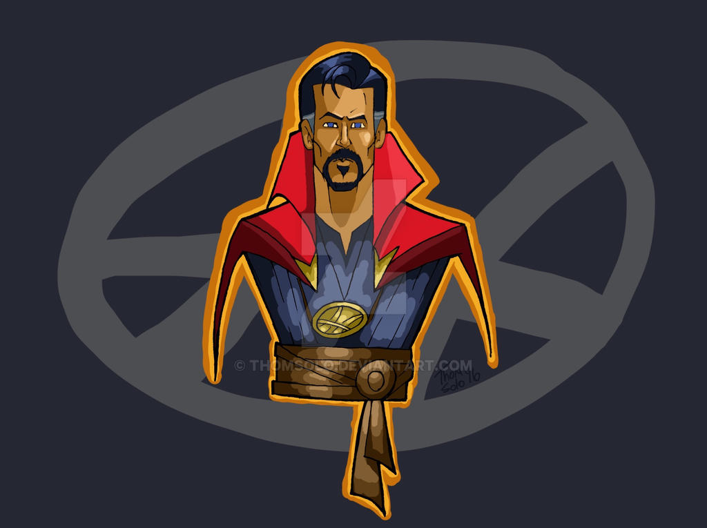 Dr. Strange by thomsolo