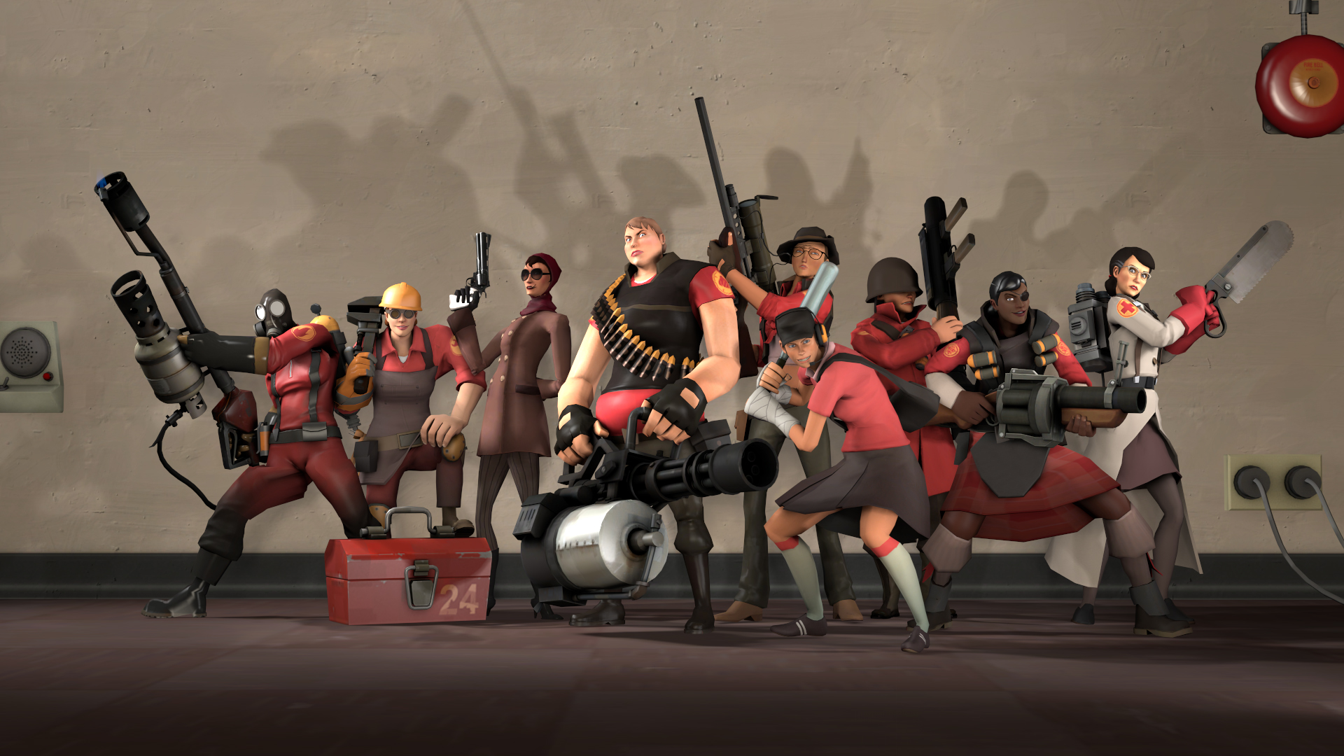 meet team fortress line them up and poke