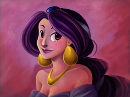 The Lovely Princess Jasmine by Tiuni