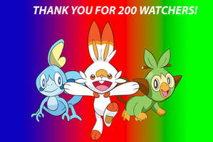 200 Watchers!