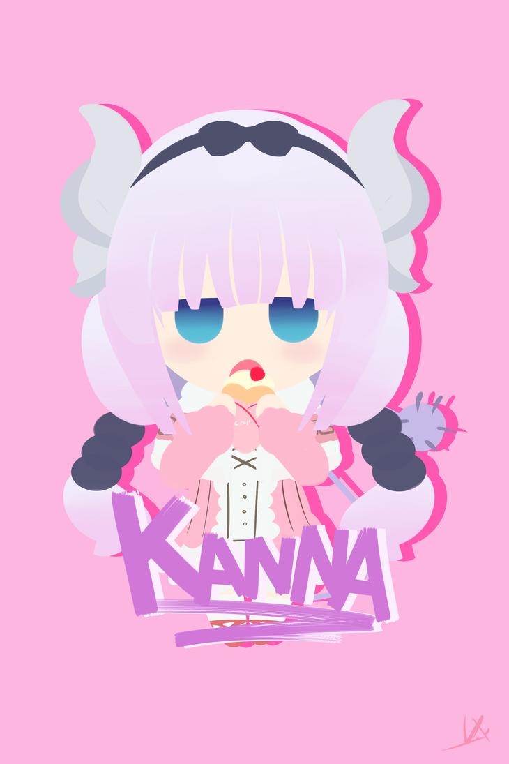[Lazy Art] Kanna-Chan by IXtour