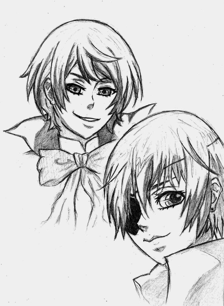 Alois and Ciel by Sabincix